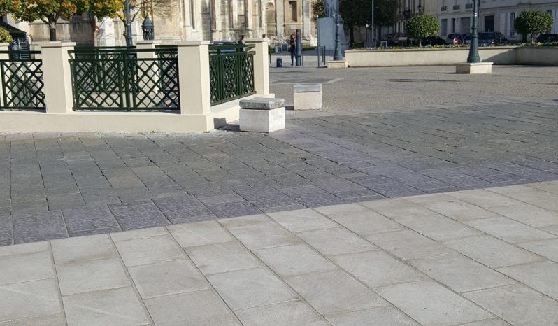 Dalles 60×40 aspect pierre Flammée complet