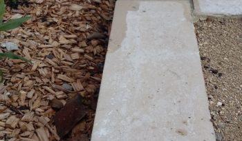 Bordure en L 20×30 L100 -(5X20) pierre sciée complet