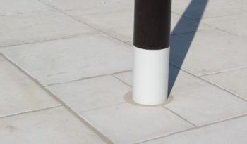 Dalles 99×99 aspect pierre bouchardée complet