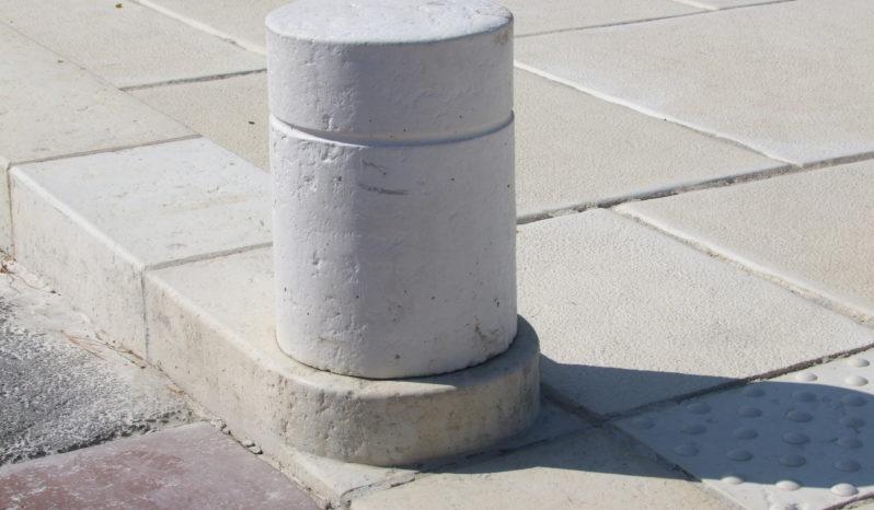 Bordure 30×25 L100 pierre sciée complet
