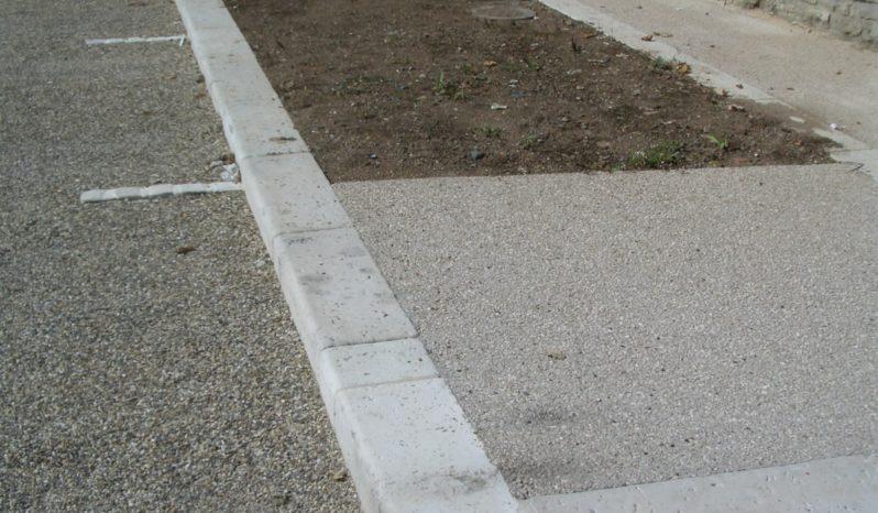 Bordure 25×25 L75 vieille pierre complet