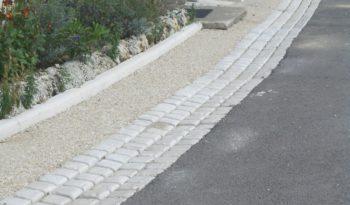 Bordure 8×20 L100 pierre sciée (P1) complet