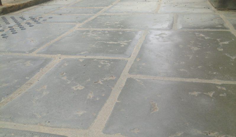 Dalles 3 formats aspect vieille pierre complet