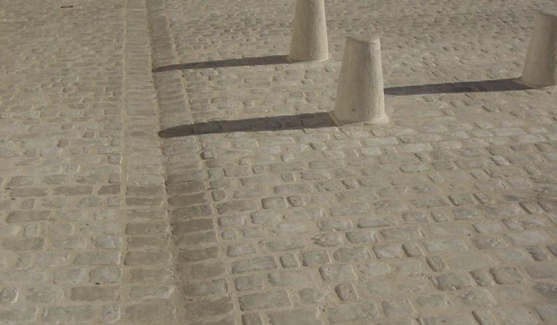 Pavés de voirie 5 formats aspect vieille pierre complet