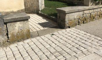 Pavés 5 formats aspect vieille pierre complet